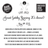 Great Gatsby Roaring Twenties Dinner