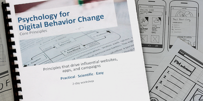 Psychology for Digital Behavior Change - New York City...