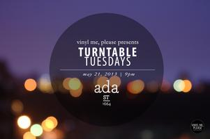 Turntable Tuesdays: A Vinyl Me, Please Listening Party