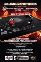 10th ANNUAL BIKE/CAR RALLY & AFTER PARTY FOR MILLENNIUM SPORTS...