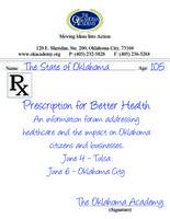 Prescriptions for Better Health, TULSA