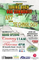 The S.P.O.T. Presents: Taking Back Our Community With Art &...