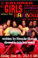 For Colored Girls Who Have Considered Suicide When the ...
