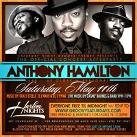 Free Anthony Hamilton Concert Afterparty @ Harlem...