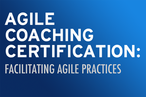 Agile Coaching Certification Pt. 1 - Facilitating Agile Practices