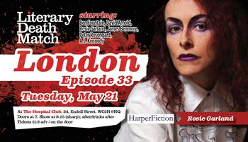 Literary Death Match London, Ep. 33