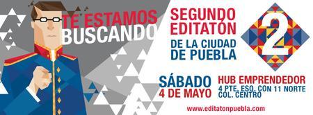 Segundo Editatón de la Ciudad de Puebla