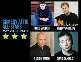 Comedy Attic All-Stars May 23-25