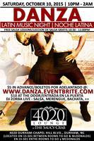 Danza Latin Night (Noche Latina) | October 10, 2015