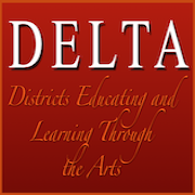 Districts Educating and Learning Through the Arts (DELTA) logo