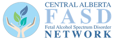 Central Alberta FASD Network (Fetal Alcohol Spectrum Disorder) logo