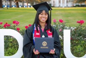 Sommyr Paden's Graduation from Dillard University