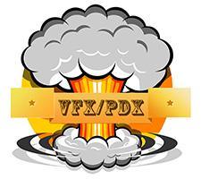 VFX/PDX logo