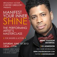 Manifesting Your Inner Shine Performing Artist Masterclass by...