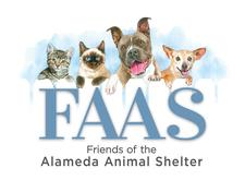 Friends of the Alameda Animal Shelter (FAAS) logo