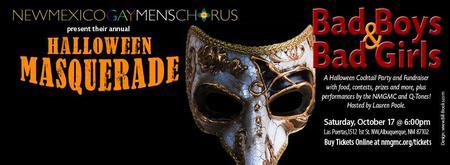 Halloween Masquerade:  Bad Boys & Bad Girls