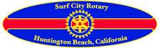 Surf City Rotary Club of Huntington Beach, Ca.  501(c)3 81-0937112 logo