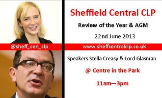 Sheffield Central CLP - AGM - Review of the Year 2013