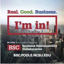 NC State Poole College Business Sustainability Collaborative logo