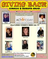 GIVING BACK COMEDY & BENEFIT SHOW!