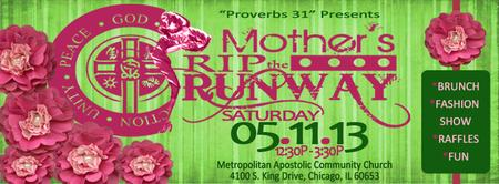 Mother's Rip the Runway Fashion Show