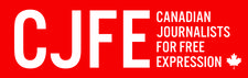 Canadian Journalists for Free Expression (CJFE) logo