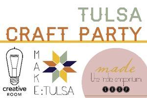 Etsy Craft Party: Tulsa, Oklahoma