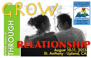"""Grow Through Relationship"" - WWME Section 11 Enrichment 2013"