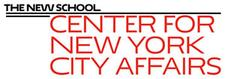 Center for New York City Affairs at The New School logo