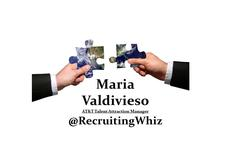 Maria Valdivieso                                       (AT&T Talent Attraction Manager) logo