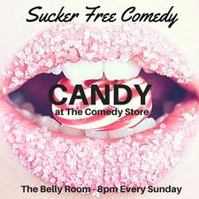 Candy at The Comedy Store  logo
