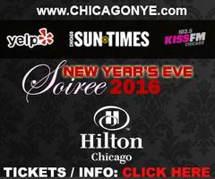 New Years Eve Soiree 2016 at Hilton Chicago w/ Kiss...
