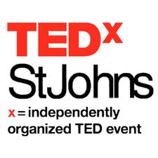 TEDxStJohns  logo