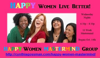 HAPPY Women MASTERMIND Group Wednesday Evening Session