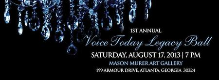 1st Annual VOICE Today Legacy Ball