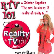 Reality TV 101- RTV101.com logo