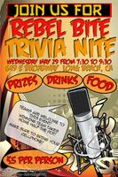 Rebel Bite Trivia Nite!