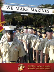 MCRD Parris Island Graduation Week Activities & Events logo