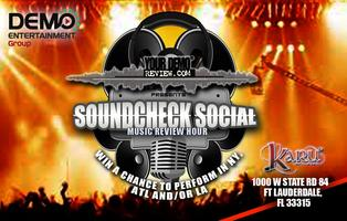 SOUNDCHECK SOCIAL MUSIC REVIEW HOUR