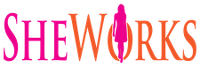 SheWorks logo