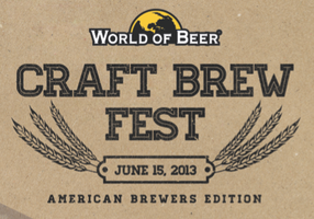 World of Beer Craft Brew Fest