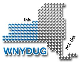 WNYDUG monthly meetup