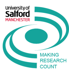 Making Research Count Salford logo