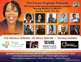 """TCE Career & Biz Summit and Awards Luncheon """"Moving..."""