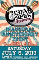 Cedar Creek Brewery 1 Year Anniversary Event