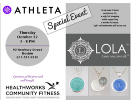 Shop for a Cause with Athleta and LOLA to Benefit Healt...