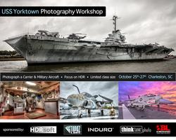 USS Yorktown Photography Workshop