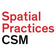 Spatial Practices, Central Saint Martins logo