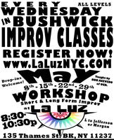 Improv Comedy Workshop (every Weds)
