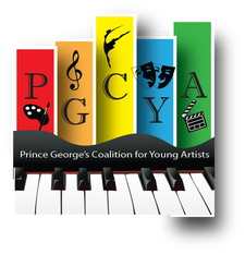 Prince George's Coalition for Young Artists (PGCYA)  logo